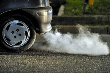 זיהום אוויר מכלי רכב